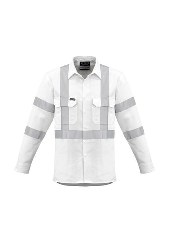 ZW621 Bio Motion X Back Taped Shirt White