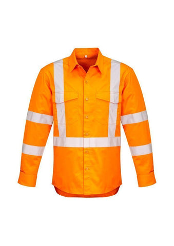 ZW690 Hi Vis X Back Taped Shirt