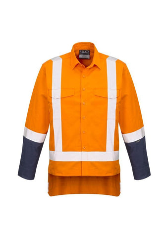 ZW820 Mens TTMC-W Rugged Cooling Work Shirt