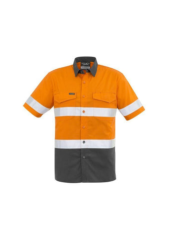 ZW835 Rugged Cooling Hi Vis Short Sleeved Shirt