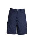 ZWL011 Womens Plain Work Shorts