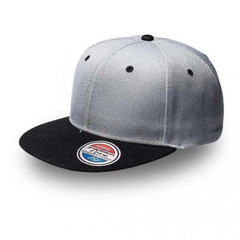 S12608 2-Tone Snap Back Cap