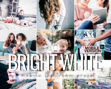 Bright White Mobile Preset