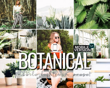 Load image into Gallery viewer, Botanical Mobile Preset
