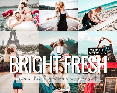 Bright Fresh Mobile Preset