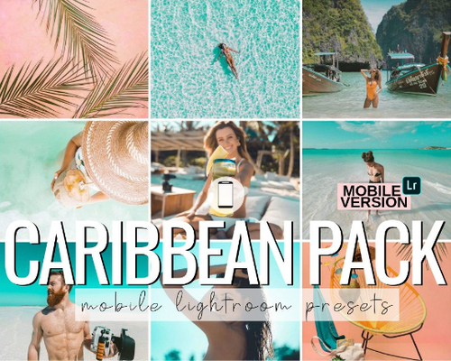 Caribbean Mobile Presets - 3 Pack