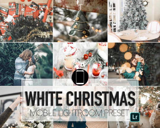 White Christmas Mobile Preset