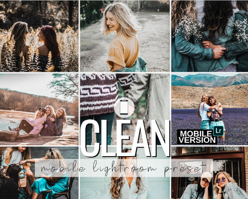 Clean Mobile Presets - 2 Pack