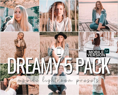 Dreamy Mobile Presets - 5 Pack