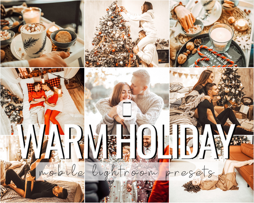 Warm Holiday Mobile Presets - 5 Pack