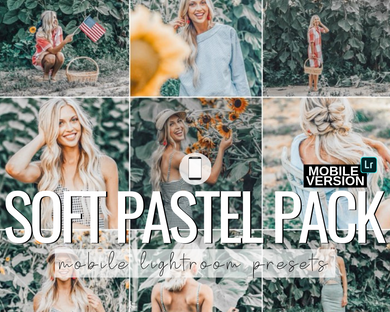 Soft Pastel Mobile Presets - 5 Pack