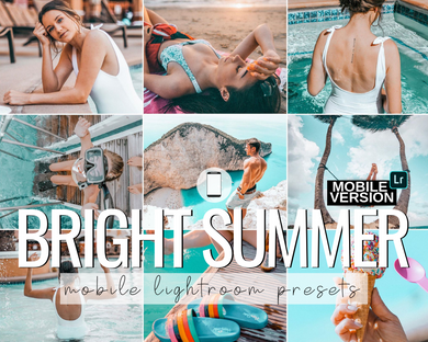 Bright Summer Mobile Presets - 5 Pack