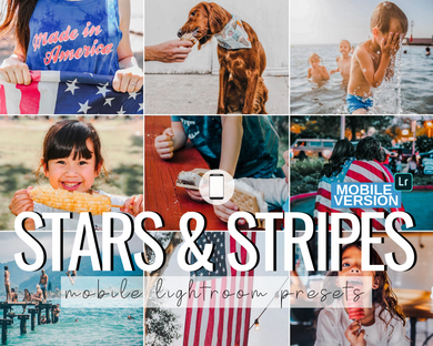 Stars & Stripes Mobile Presets - 4 Pack
