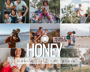 Honey Mobile Preset