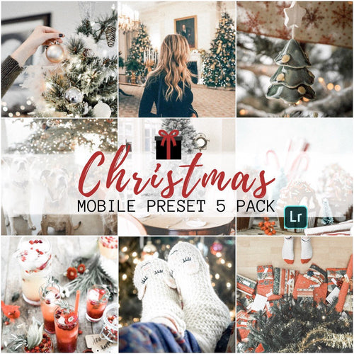 Christmas Preset Bundle - 5 Pack