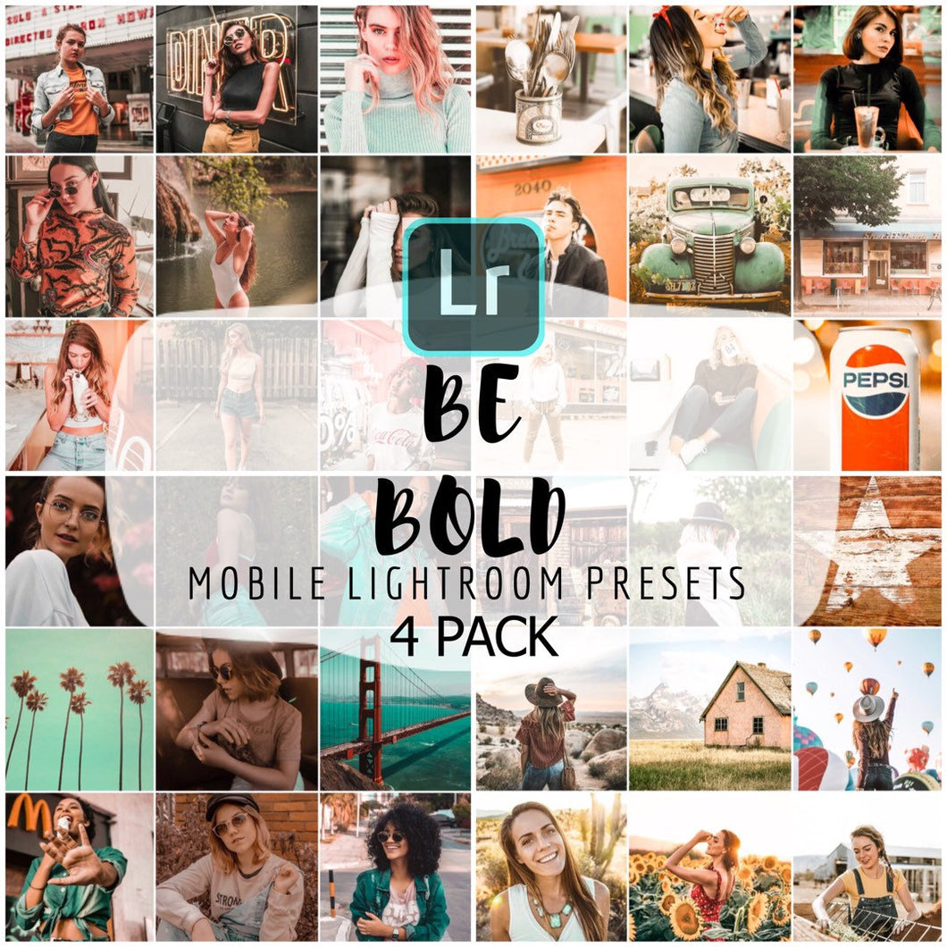 Be Bold Mobile Preset Bundle - 4 Pack