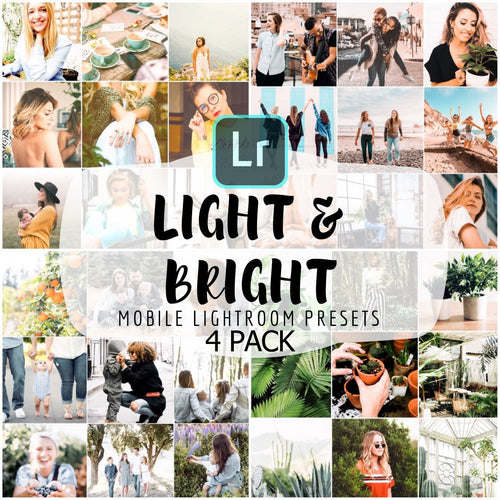 Light & Bright Presets Bundle - 4 Pack