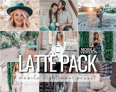 Latte Mobile Presets - 3 Pack