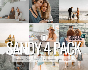 Sandy Mobile Presets - 4 Pack