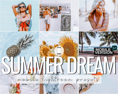 Summer Dream Mobile Presets - 4 Pack