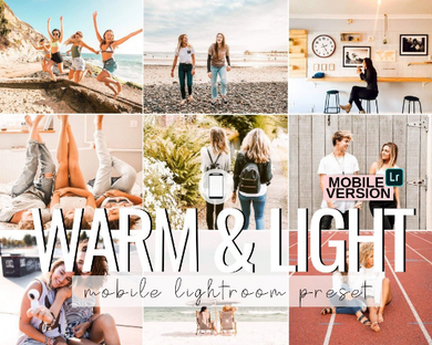 Warm & Light Mobile Presets - 3 Pack