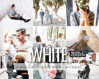 White Mobile Preset