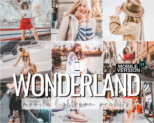 Wonderland Mobile Presets - 4 Pack