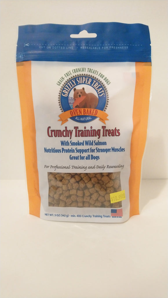 Grizzly Salmon Treats 142g