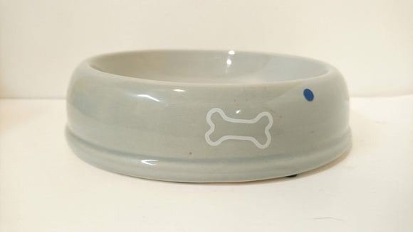 Great Jack's Ceramic Bowl Grey High-back