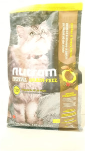 Nutram Total Chicken and Turkey Cat 4lbs