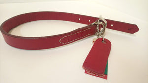 "Circle-T Leather Collar 18"" Length"