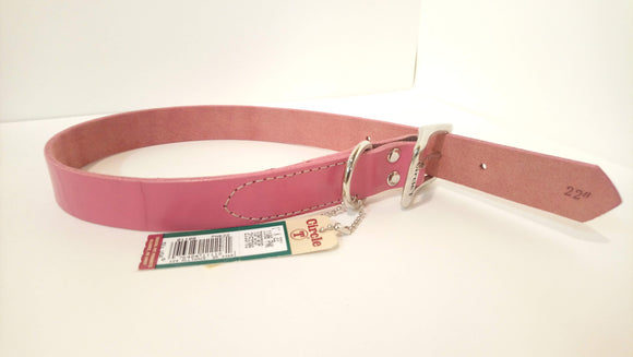Circle-T Leather Collar 22