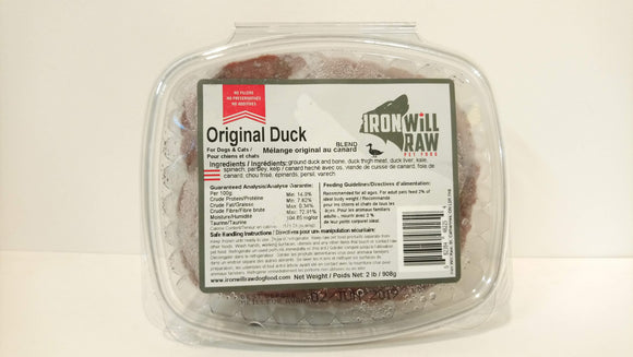 Iron Will Original Duck