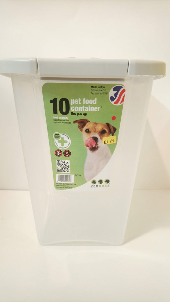 Vanness Pet Food Container