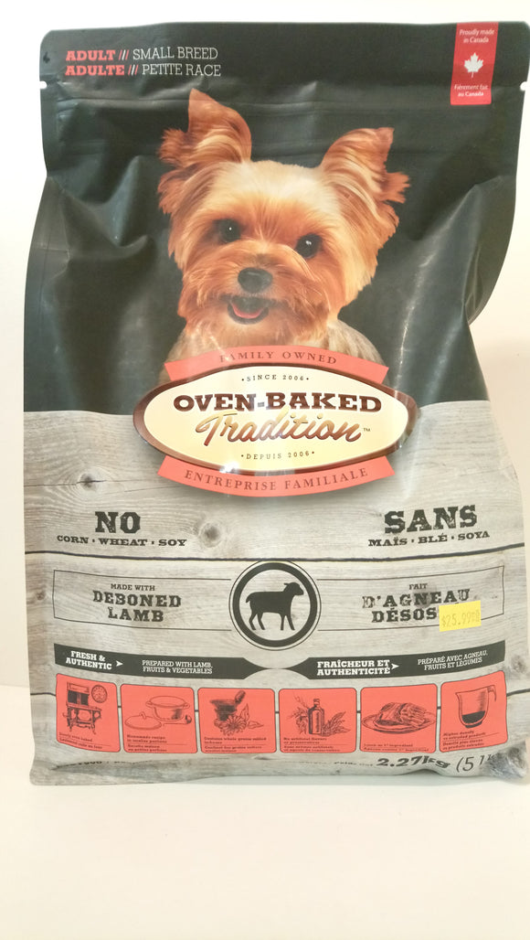 Oven-Baked Tradition Small Breed Lamb Adult 5lbs