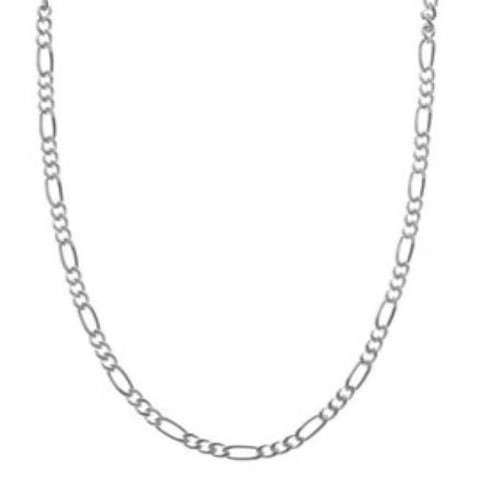 ".925 Sterling Silver 24"" Chain 4mm"