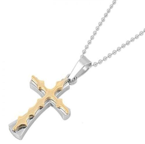 Stainless Steel Small Cross Necklace