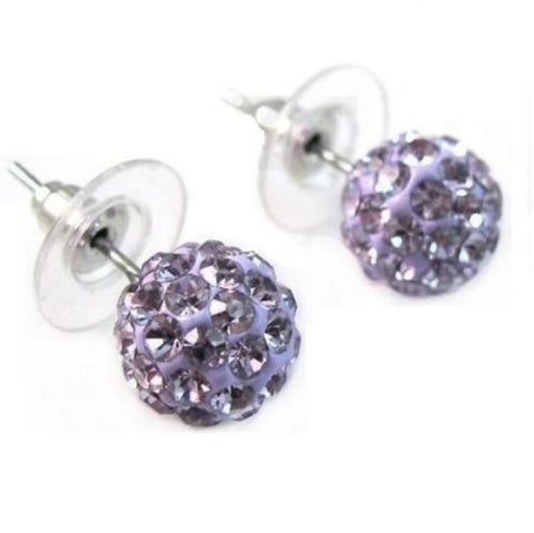 Crystal Ball Sparkle Studs