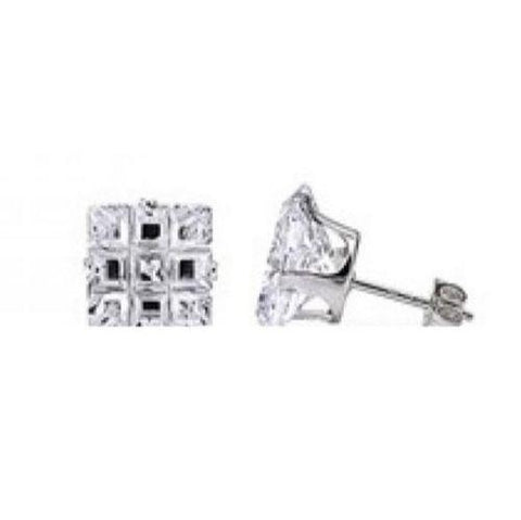.925 Invisible Square Cut Studs