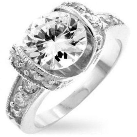 Royal Cushion Engagement Ring