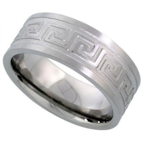 Comfort Fit Stainless Steel Wedding Band