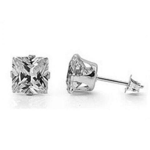 .925 Princess Sparkle Studs