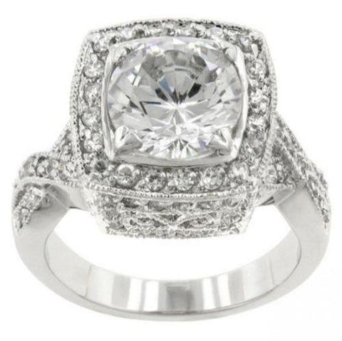 Royal Cushion Cut Engagement Ring