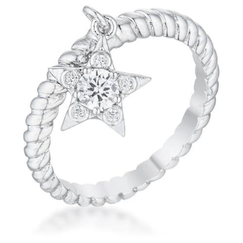 Shooting Star Sparkle Ring
