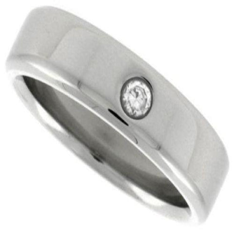 Stainless Steel Classic Wedding Band