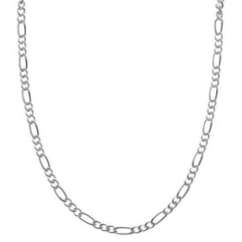 ".925 Sterling Silver 24"" Chain 6mm"