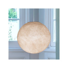 abat jour couleur beige, suspension