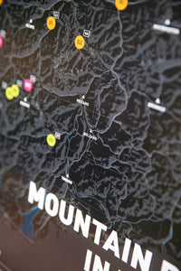 Mountain Bike Map of the Alps - TrailMaps.co.uk