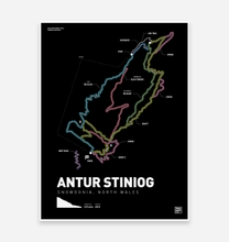 Load image into Gallery viewer, Antur Stiniog Art Print - TrailMaps.co.uk