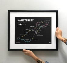 Load image into Gallery viewer, Hamsterley Art Print - TrailMaps.co.uk